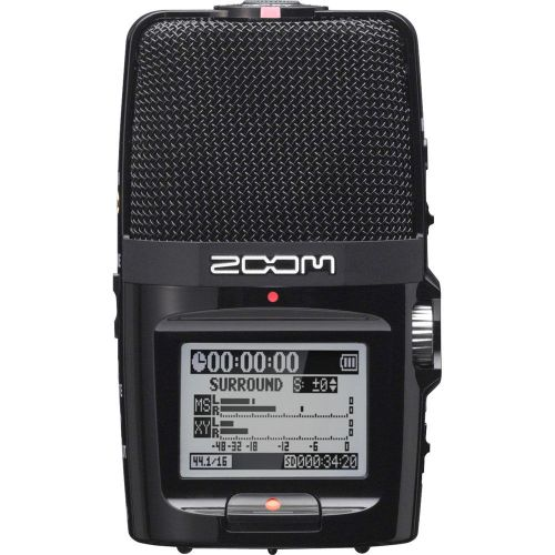 Zoom H2n 2-Input / 4-Track Portable Handy Recorder with Onboard 5-Mic Array