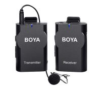 Boya BY-WM4 Pro  Professional Wireless Microphone System Lavalier Lapel Mic for Canon Nikon Sony DSLR Camcorder Recorder