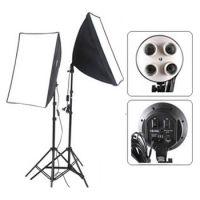 5400watts bulb set softbox set (