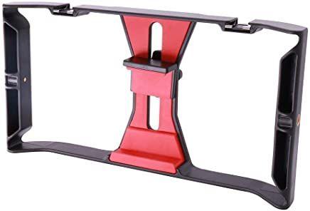 Smartphone Video Rig Phone Video Stabilizer Grip Tripod Mount for Videomaker Case