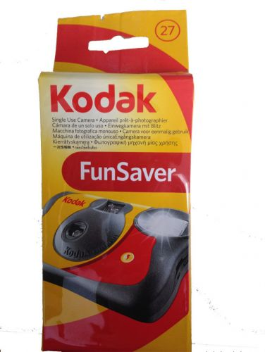 Kodak Funsaver ( 27 exposure ) disposible ( single  Use )