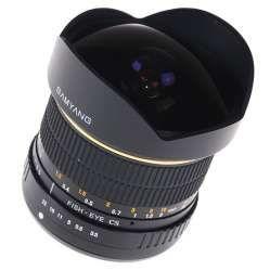 Samyang 8mm Fish Eye F3.5 (For Pentax)