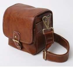 Brown Camera Bag
