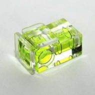 Bubble spirit level (2 axis Hotshoe)