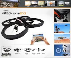 Quadrotor AR.Drone 2.0