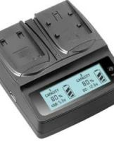 World First LCD indicator battery Charger