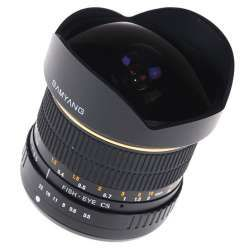 Samyang 8mm Fish Eye F3.5 (For Canon)