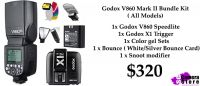 Godox V860 Mark II Bundle Kit