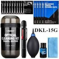 camera cleaning kit VSGO DKL-15G/15B/15R Camera Cleaning Travel Kit For Camera, Lens, Screen, Phones