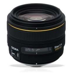 Sigma 30mm F1.4 EX DC HSM (Nikon/Canon)