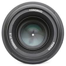 Yongnuo 50mm f/1.8 lens for Nikon