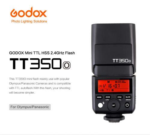 Godox TT350 for Olympus / Panasonic