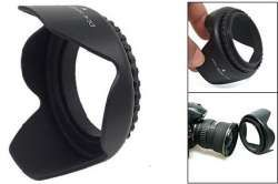 Screw On lens Hood-  sizes 58mm