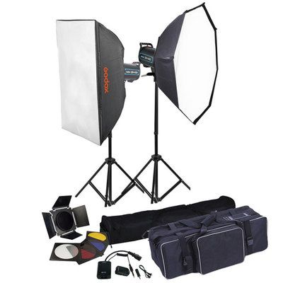 Godox QS400 ( 400 watts kit set )