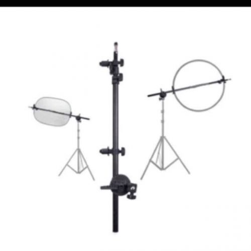 2 in 1 reflector Holder & Speed Boom