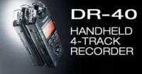 Tascam DR 40 Handheld 4-Track Recorder