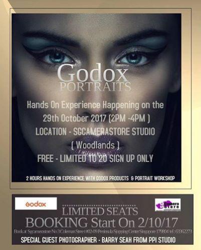 Godox Potrait ( HandsOn Experience ) 29 october 2017 - fully book