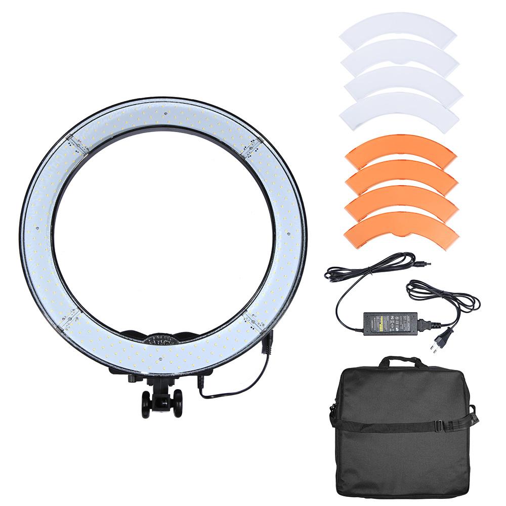 Led Ring Light Studio: 240PCS LED Ring Light 5500K Camera Phone Video Light